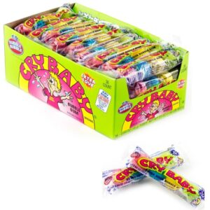 CRY BABA GUMBALLS EXTRA SOUR 4-BALL TUBE 12/36 CT