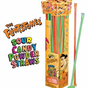 7898 Flintstones Sour Candy Powdered Straws