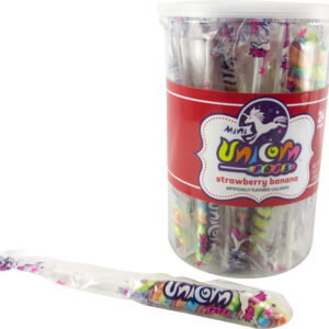 A&B 76360 MINI UNICORN RAINBOW POPS 24CT JAR