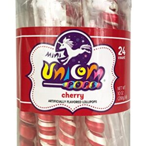 A&B76363 MINI UNICOR COLORS RED CHERRY 6-24CT -10OZ