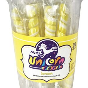 A&B76367 MINI UNICORN COLORS YELLOW LEMON 6-24CT-10OZ