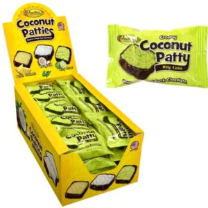 ANCF418 Coconut Patty Key Lime Dark Chocolate 4-48-1.25oz