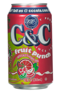 C&C00673 Fruit Punch Can 12oz
